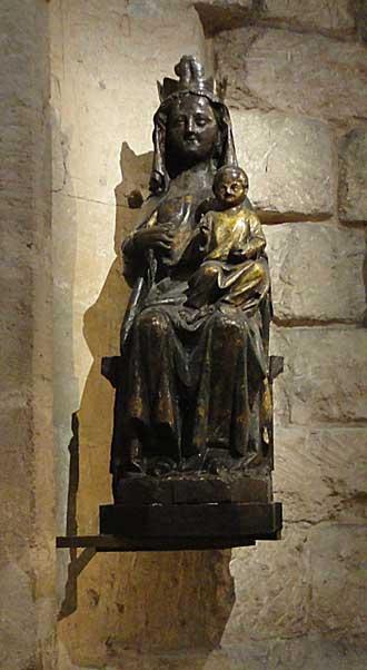 Vierge noire Saint-Victor Marseille