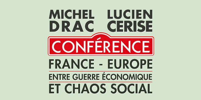 Michel Drac et Lucien Cerise