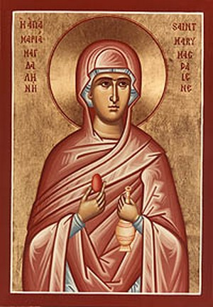 Marie Magdala œuf rouge