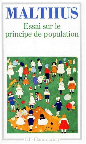 Essai principe surpopulation Thomas Malthus