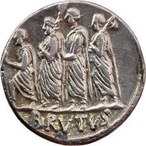 [Help LCA] Aide pour l'analyse d'un personnage sur un tableau représentant Cincinnatus Licteurs_monnaie_Brutus