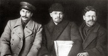 Triumvirat Staline Zinoviev Kamenev