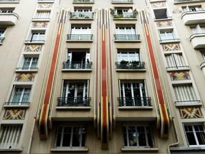 Immeuble Art Déco Paris rue Ernest Psichari