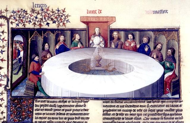 Table Ronde Saint-Graal