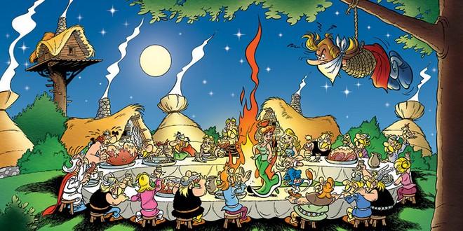 Astérix Obelix banquet