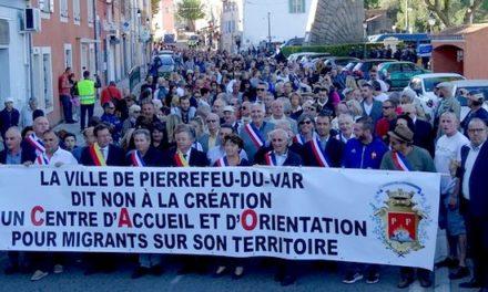 Migrants à Pierrefeu: enfumage et coup de force!