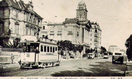 À Toulon, un tramway nommé mirage