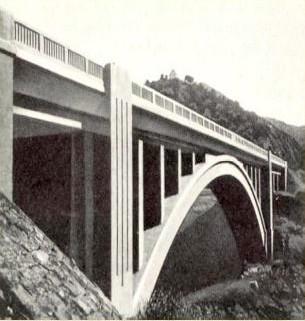 Algérie française pont béton