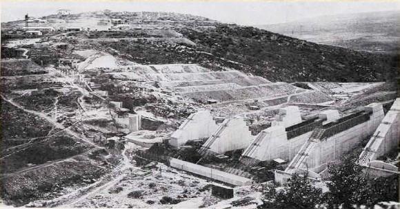 Barrage Beni Bahdel Algérie française