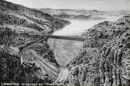 Barrage Oued Fodda Algérie française
