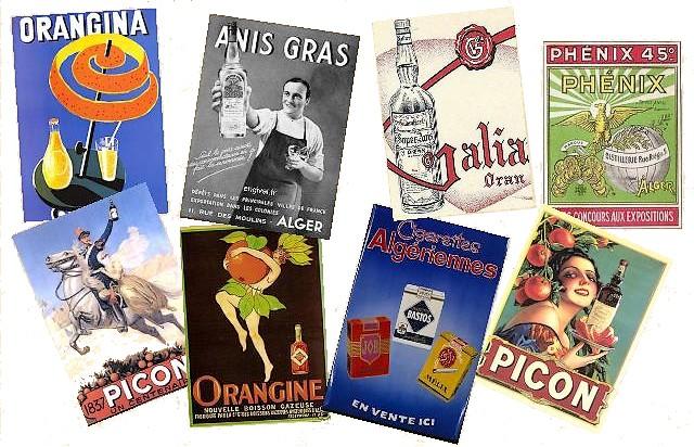 Produits créés Algérie française