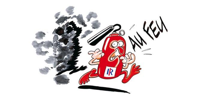 Alerte feu pompiers Les Républicains