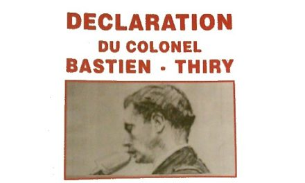 Bastien-Thiry ou l'honneur d'avoir osé