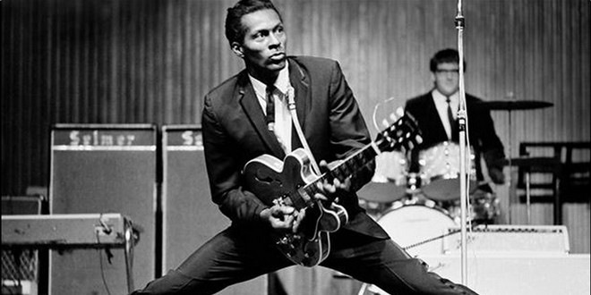 Chuck Berry, poète du rock'n roll