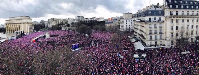 Fillon Trocadéro 5 mars 2017