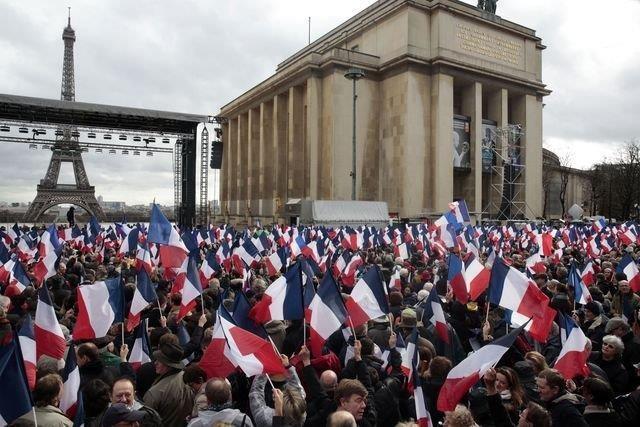 Trocadéro François Fillon 6 mars 2017