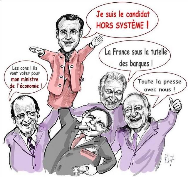 Les cons voter macron ministre économie Hollande