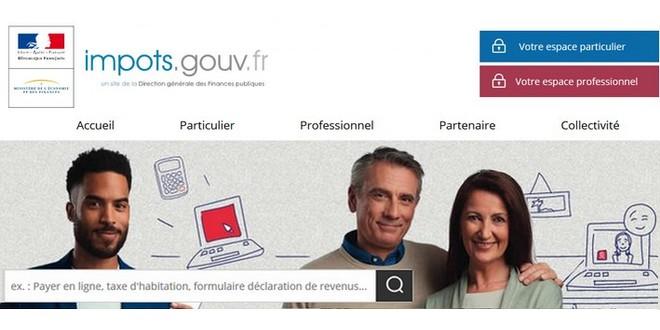 Accueil impots.gouv.fr