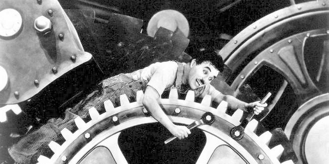 Charlie Chaplin Temps modernes