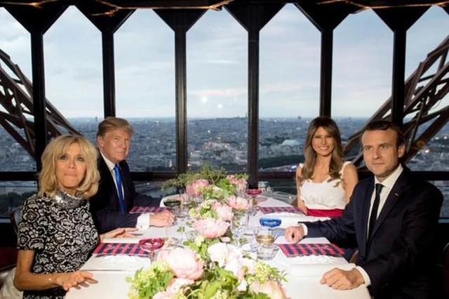 13 juillet 2017 Macron Trump Tour Eiffel