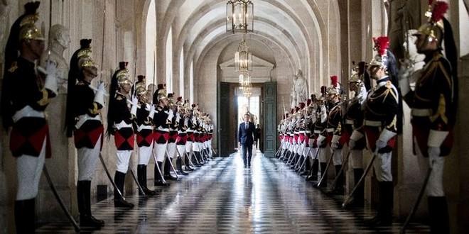 Emmanuel Macron Congrès Versailles 3 juillet 2017