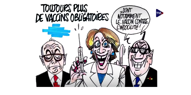 OBLIGATION 11 vaccins petition à ministre Sante: pourquoi 11? Marisol_Touraine_vaccination_obligatoire_dessin_Ignace