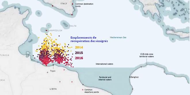 Migrants côtes libyennes