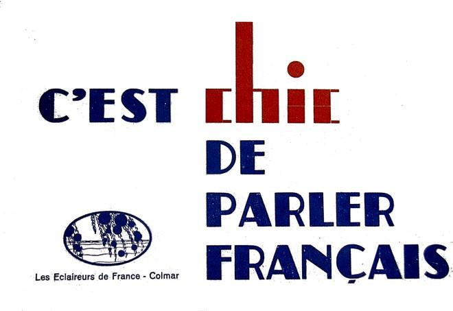 Chic parler français Alsace