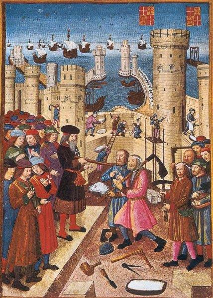 Francs-Maçons médiévaux