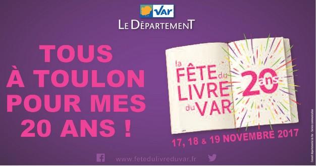 Vingt ans de fête du livre à Toulon