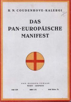 Coudenhove-Kalergi manifeste paneuropéen