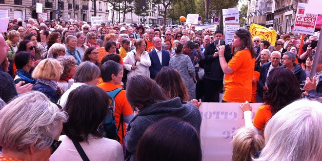 Manifestation anti-vaccins obligatoires 9 septembre 2017 ministère santé Paris