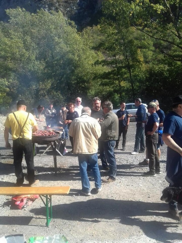 Barbecue Fontan Vugi Roya 15 octobre 2017