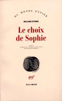 Choix Sophie William Styron