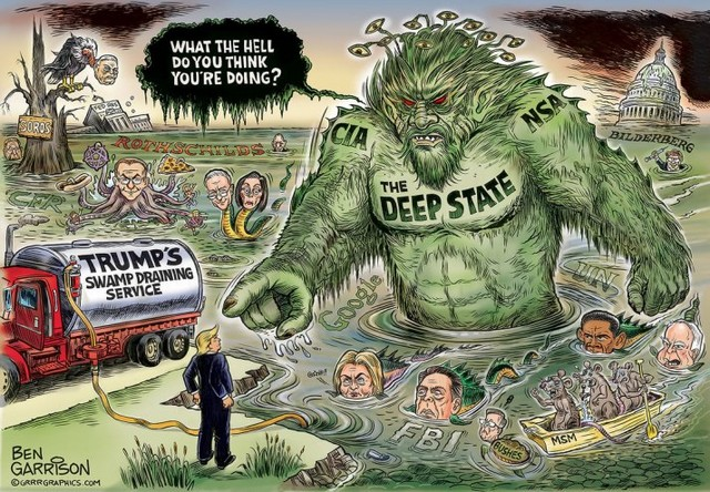 Deep State Trump