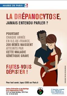 Drépanocytose Paris