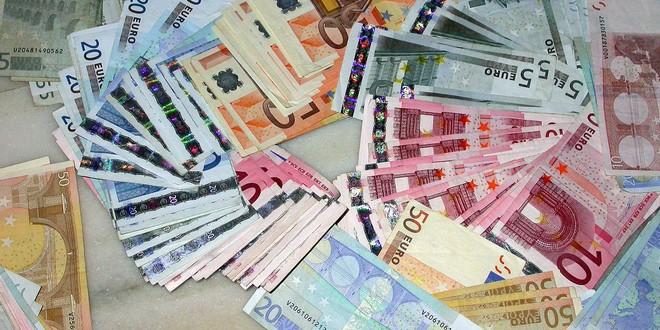 Argent billets Euros