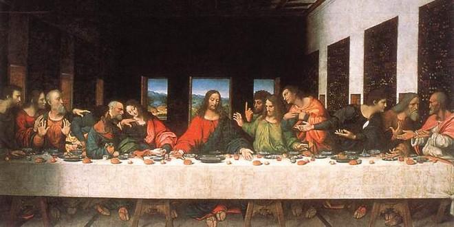 Cène Léonard Vinci