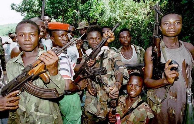 Guerre civile Libéria