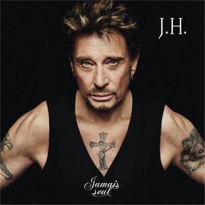 Johnny Hallyday Jésus croix rocker