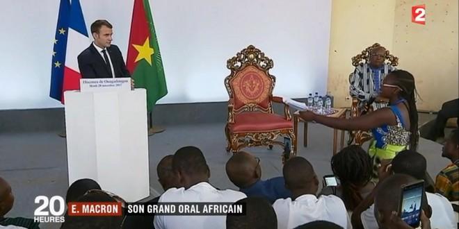 Macron Ouagadougou tabous 28 novembre 2017