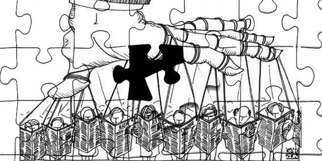 Manipulation presse puzzle
