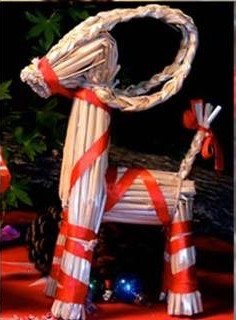 Noël scandinave bouc