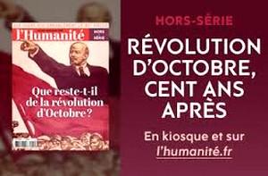 Humanité centenaire Révolution octobre 1917