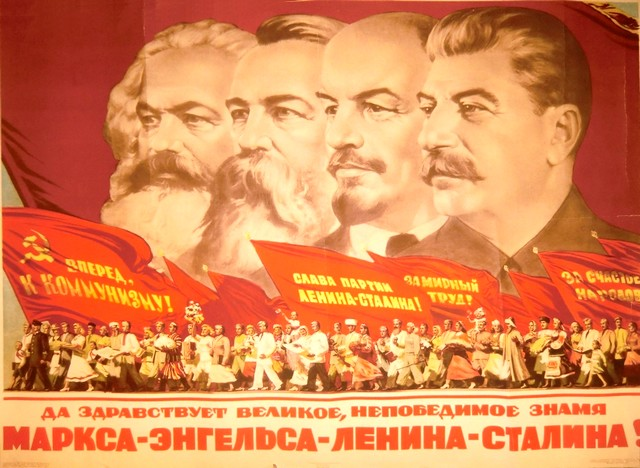 Marx Engels Lénine Staline