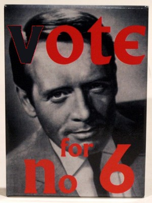 Prisoner Patrick McGoohan vote number 6