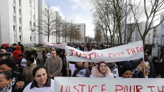 Aulnay-sous-Bois Justice pour Théo