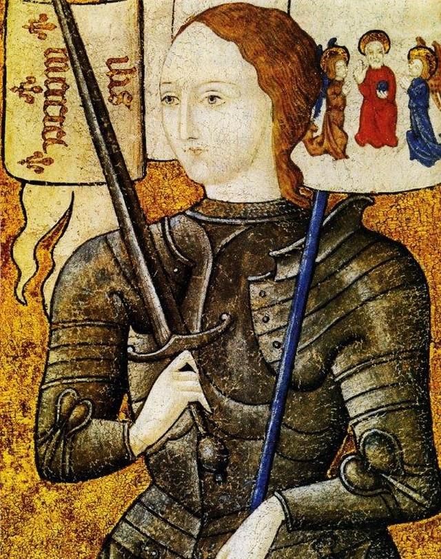 Jeanne Arc enluminure