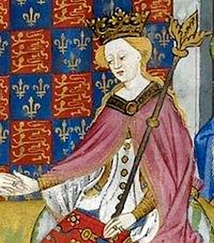 Marguerite Anjou enluminure
