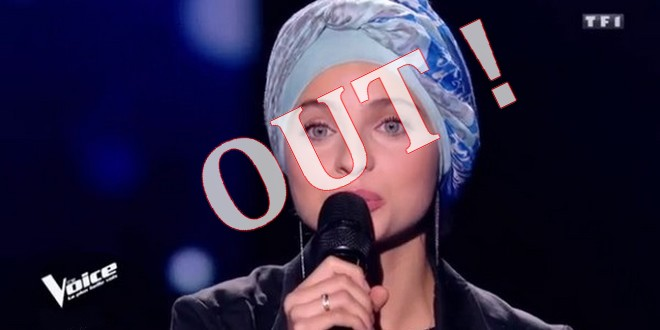 Mennel Ibtissem out The Voice